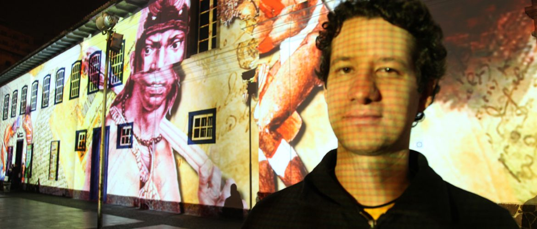 VJ Alexis quer contar a história do video mapping no Brasil