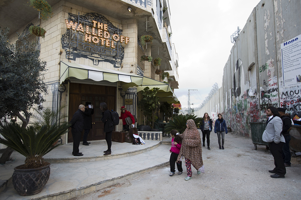 Hotel de Banksy na Faixa de Gaza