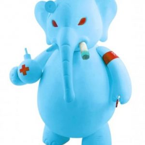 Elefante Dr Bomb de Frank Kozik