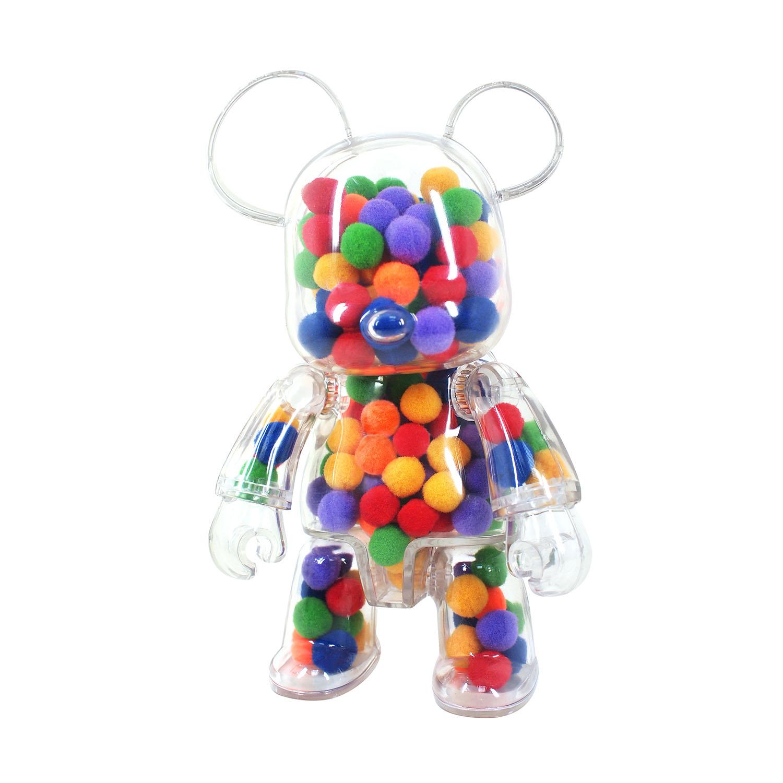 Qee Pompom Bear Transparente