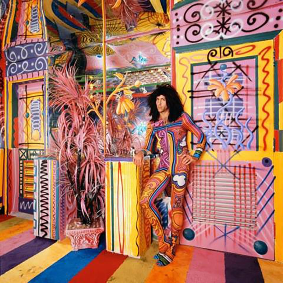 Murais de Keith Haring e Basquiat